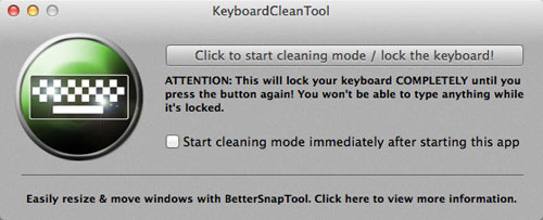 KeyboardCleanTool
